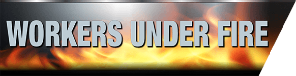 Workers Under Fire Logo